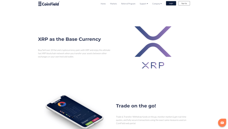 coinfield crypto exchange)