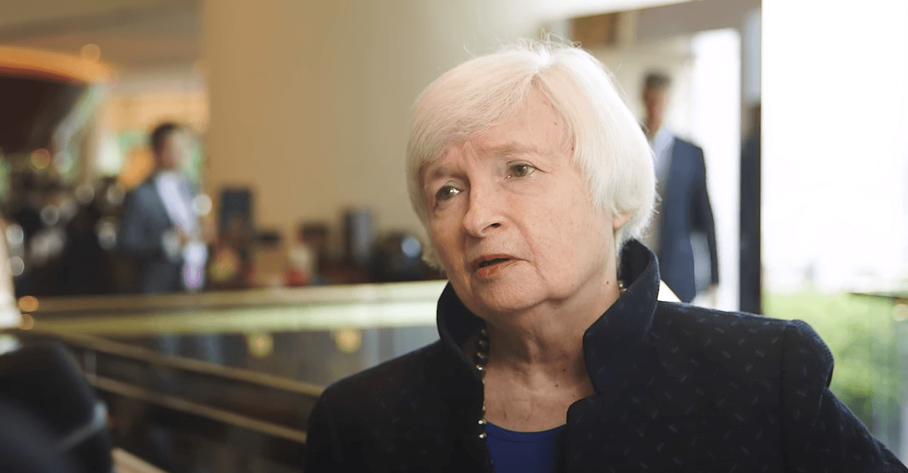 Janet Yellen Writes: It's 'Important We Consider the Benefits of Cryptocurrencies'
